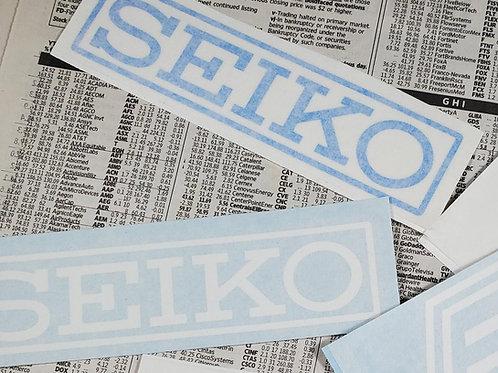 "Seiko 5"" Cut Vinyl Sticker"