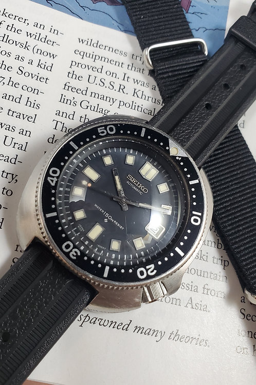 "1971 Seiko 6105-8119 ""Captain Willard"" Automatic Dive Watch"