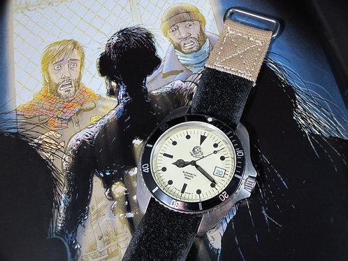 "1980's Nautilus Full Lume Dial ""980.032"" ""Poor Man's Heuer"" Jumbo Diver"