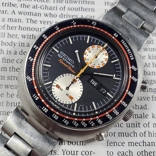 "1970 Seiko 6138-0010 Yachtman SpeedTimer JDM ""UFO"" Automatic Chronograph"