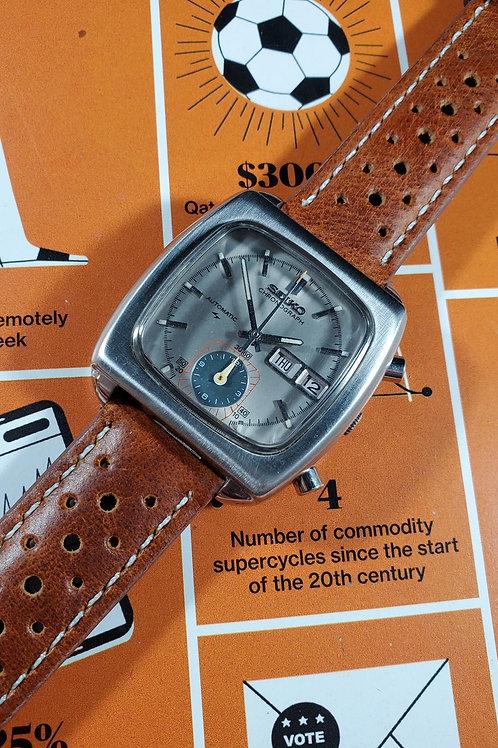 """1973 Seiko 7016-5001 """"Monaco"""" Automatic Chronograph"""