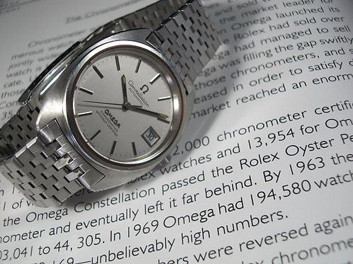 1973 Omega Constellation Chronometer Ref. 168.0056 Calibre 1011 Automatic