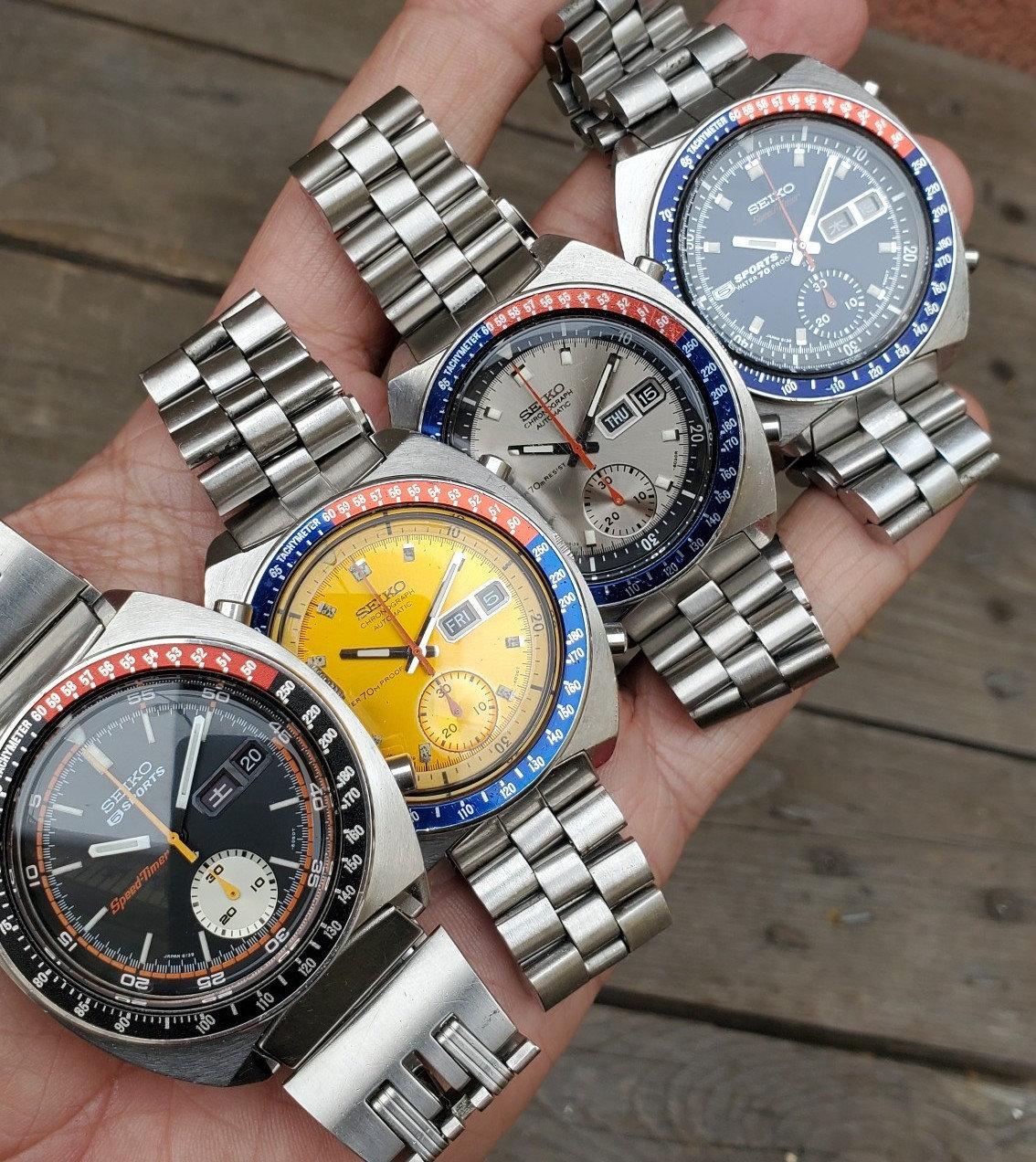 DC Vintage Watches Seiko 6139