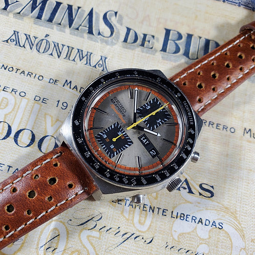 """1973 Seiko 6138-0030 JDM SpeedTimer """"Kakume"""" Automatic Chronograph"""