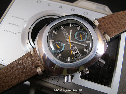 1974 Citizen 8110 67-9054 Automatic Chronograph