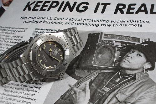 Mid-1980s TAG Heuer 3000 Ref. 982.213 Unisex Quartz Diver