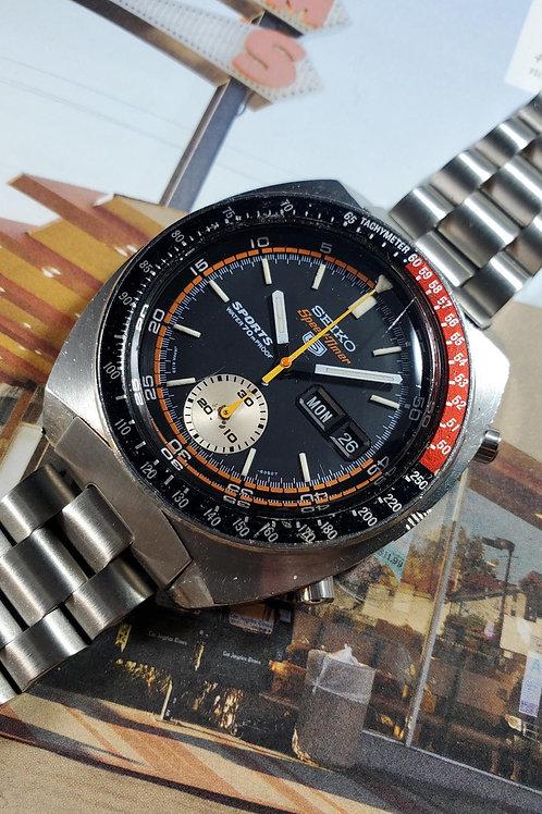 """1970 Seiko 6139-6030 """"Coke"""" SpeedTimer JDM Automatic Chronograph"""