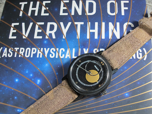 Near NOS 1980s Soviet Raketa Kopernik Sun & Moon Mechanical Watch