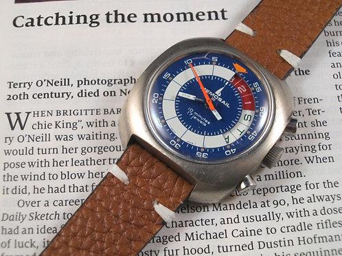 1970's Memosail Regatta Valjoux 7737 Manual Chronograph