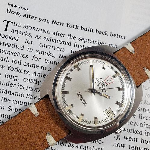 1970's Omega Electric f300hz Chronometer