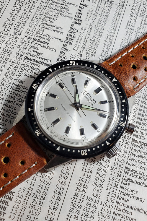 July 1964 Seiko 5719A/45899 Mono-Pusher Olympic Chronograph