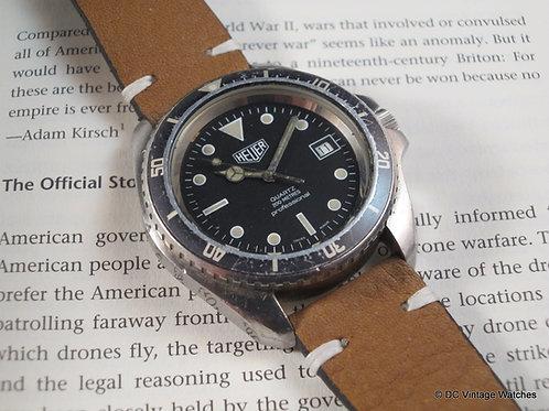 Early 1980's Heuer 980.006 Jumbo-Case Diver