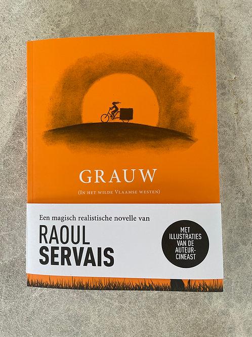 """Boek """"Grauw"""" van Raoul Servais"""
