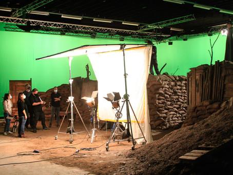 """Opnamen """"Der Lange Kerl"""" gestart / Raoul Servais maakt nieuwe kortfilm samen met Rudy Pinceel /"""