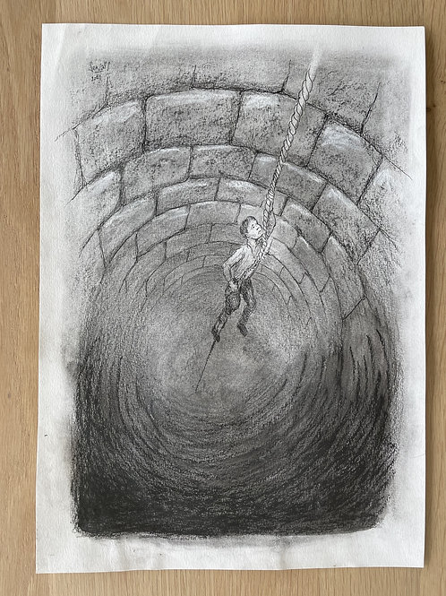 Originele tekening - the hole