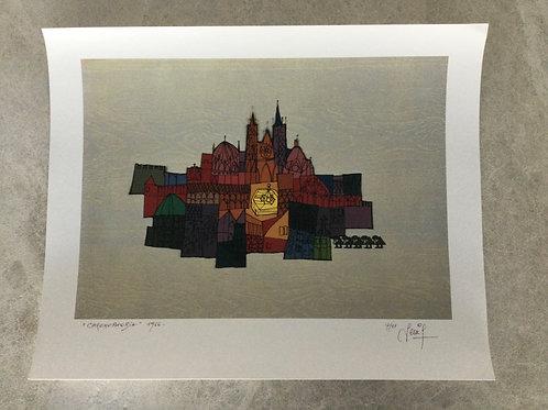 Inkjetprint CHROMOPHOBIA