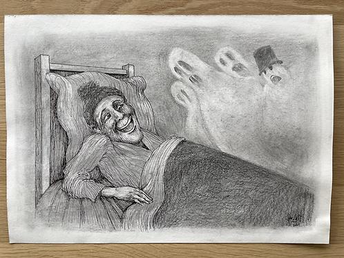 Originele tekening - De onverschrokkene