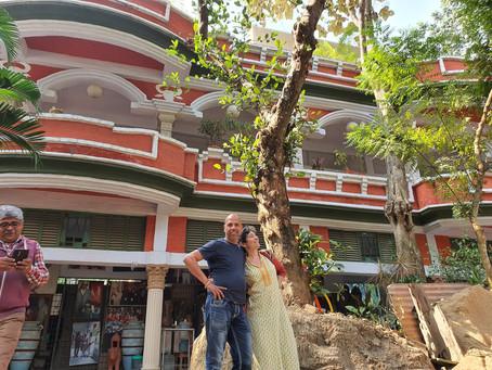 ביקור בגן עדן בבנגל - אירוח מלכותי במרכז האמנות של סומן בג'ונגל טרופי