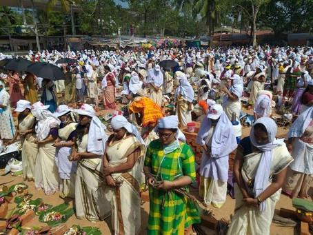 חג השבועות הוא הזדמנות לספר על פסטיבל הנשים הגדול בעולם המתקיים בהודו בחג הקציר – פונגלה Pongala