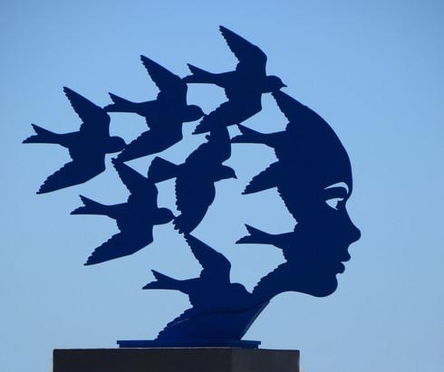 Skulptur in Hermanus