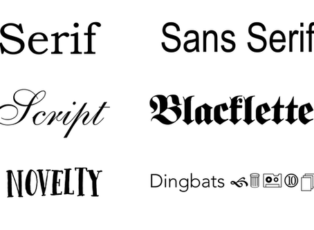 Fonts Are Fun!