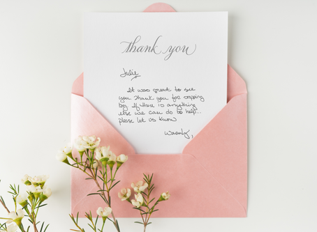 The Handwritten Note - Creating A Connection