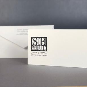 Santa Barbara Youth Ensemble Theatre / Notecard & Envelope