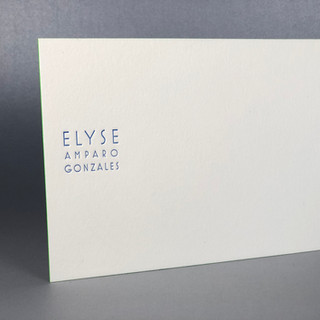 Personalized Notecard