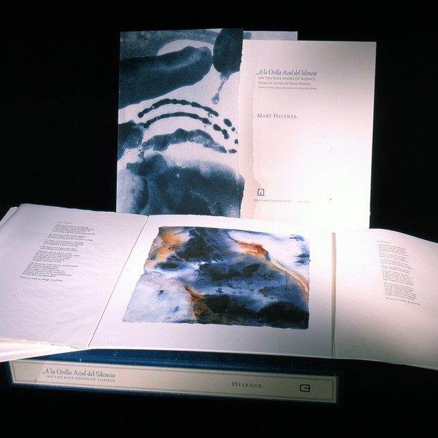 Blue Shore of Silence / Artist's Book