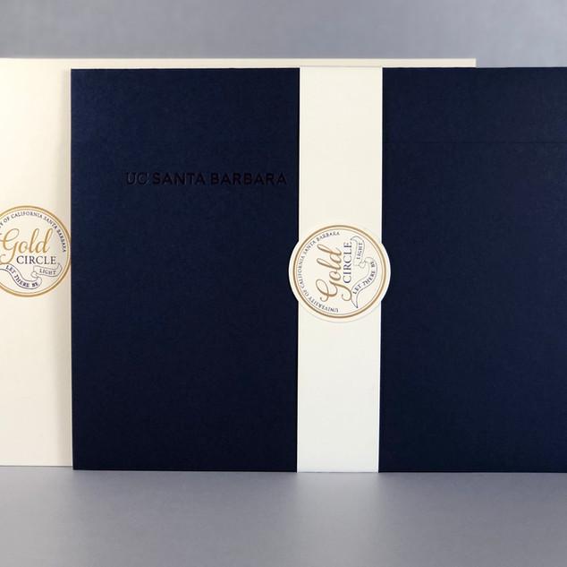 UC Santa Barbara / Gold Circle Presentation Portfolio