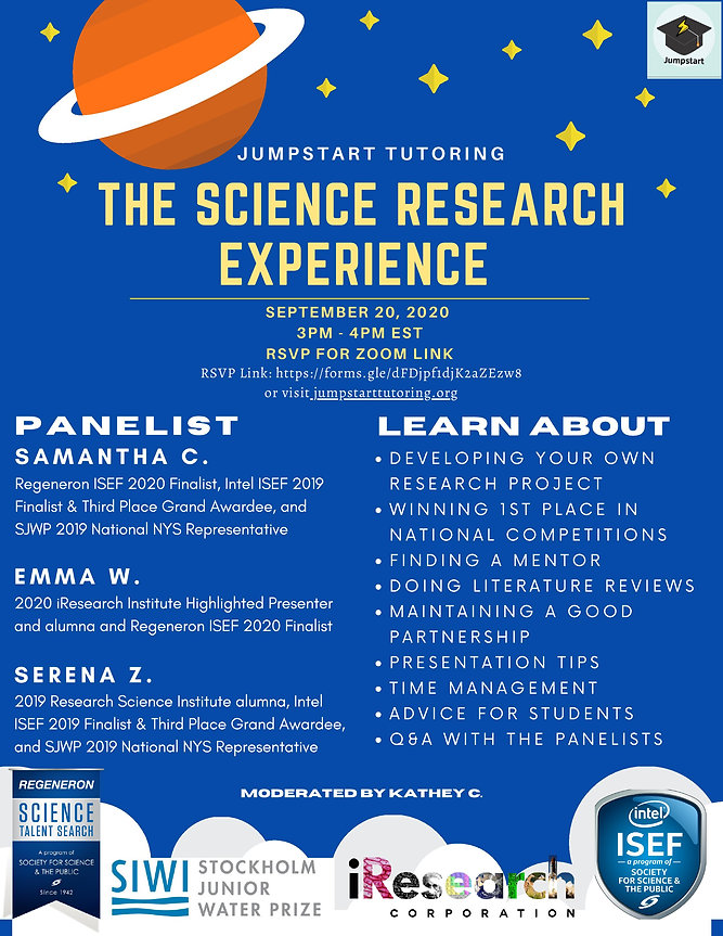 The Science Research Experience [Hosted