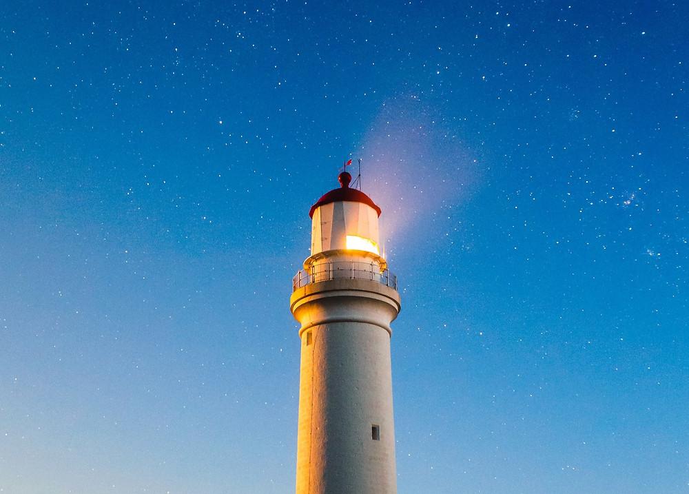 Photo of a Lighthouse by Joshua Hibbert on Unsplash
