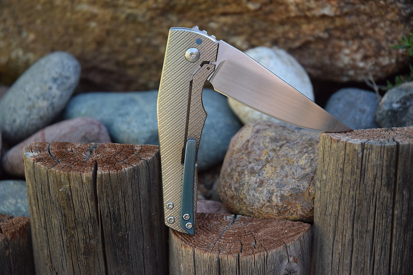 With Honor II - Titanium Frame Lock