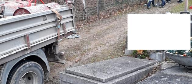 LKW Bergung am Friedhof (T1)