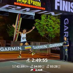 42KM (2:49 hours) - Garmin Marathon 2020