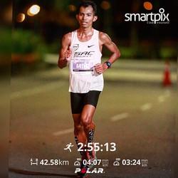 42KM 1st Malaysian (Twincity Marathon 2020)
