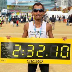 42KM (2:32 Hours) - Osaka Marathon 2019
