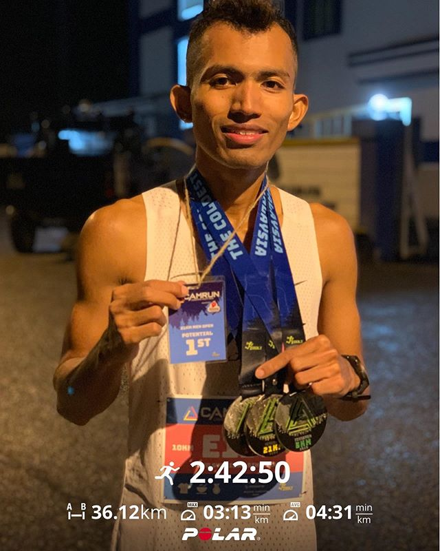 21KM CHAMPION (Cameron Night Run)