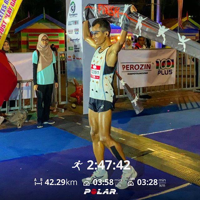 42KM (2:47 hours) - Larian Jambatan Sultan Mahmud Terengganu