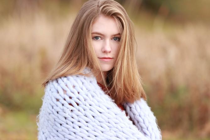 senior girl portrait