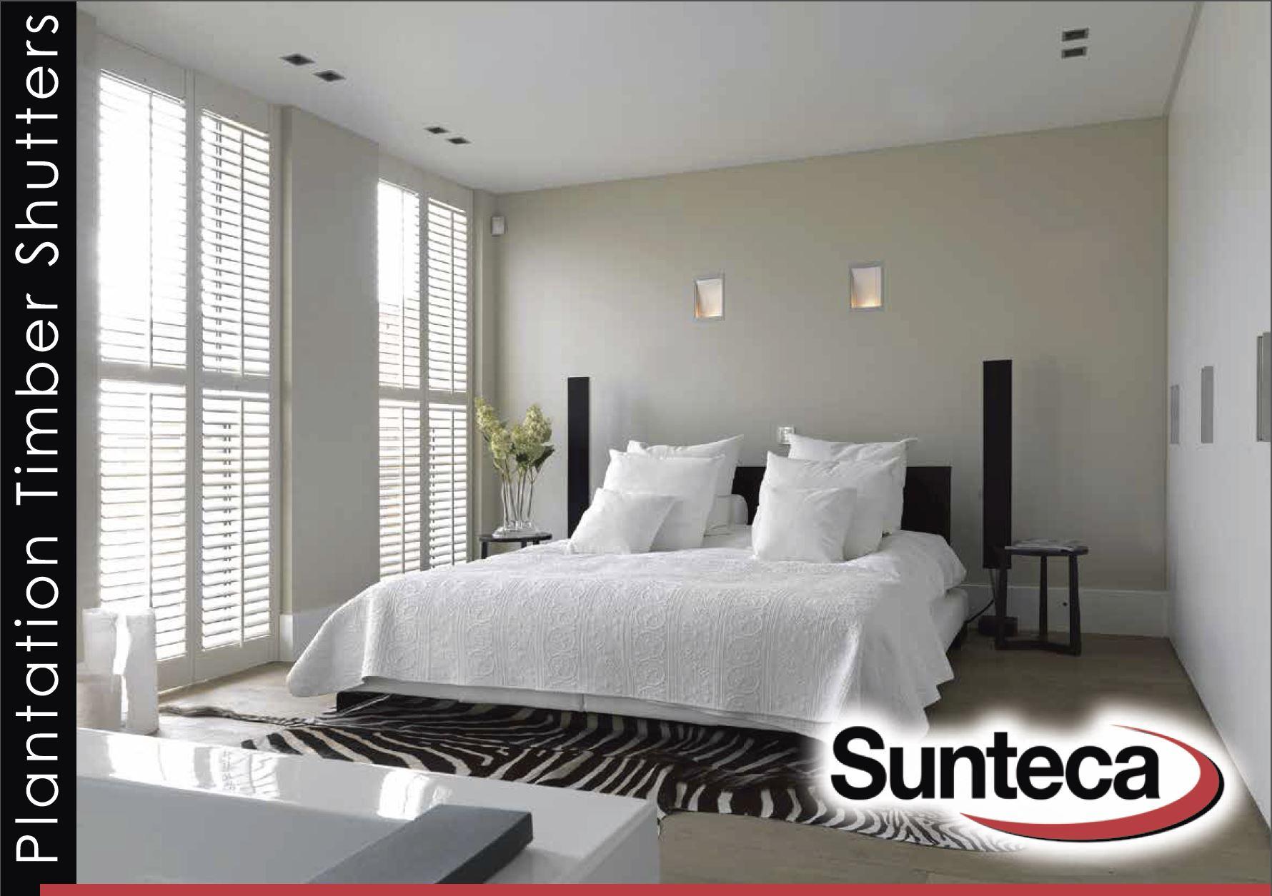 Sunteca Plantation Timber Shutters