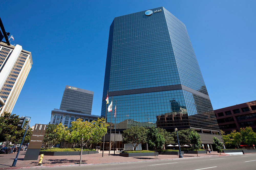 I joined Morgan Stanley Dean Witter in 1987, my office was on the 2nd floor in San Diego.