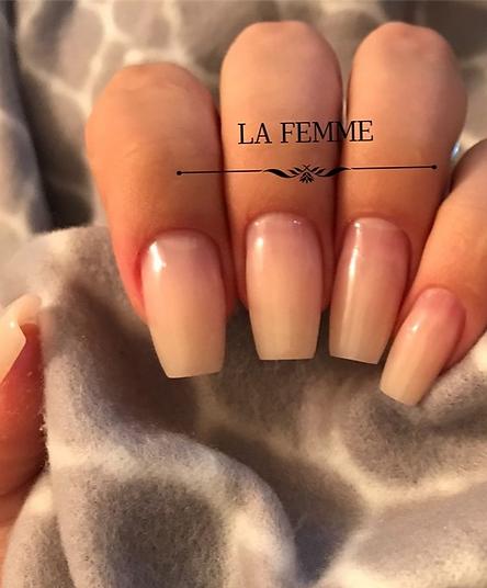 la femme alongamento de unhas