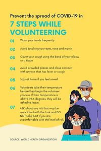 7 Steps While Volunteering