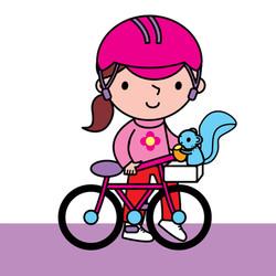 8. Elouisa and her bike-01