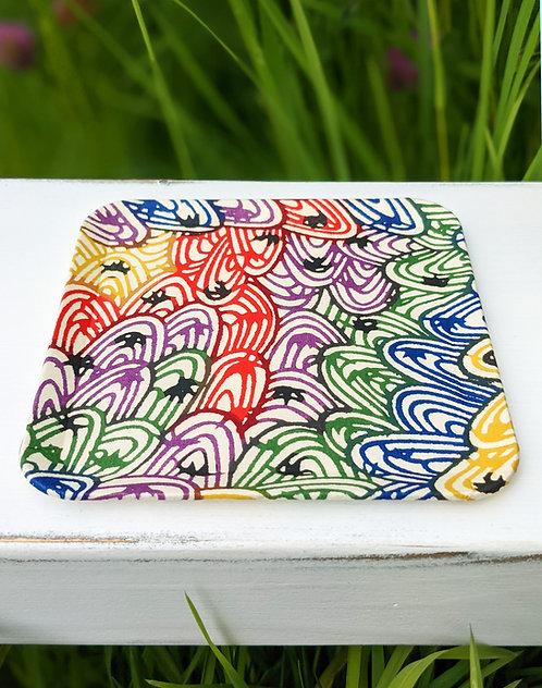 Kyoto Washi Paper Tray - Niji