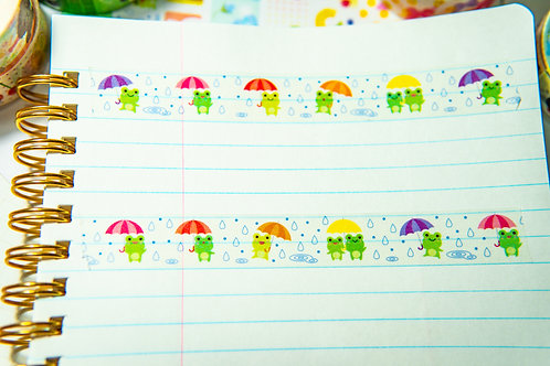 Washi Tape from Japan - Frog