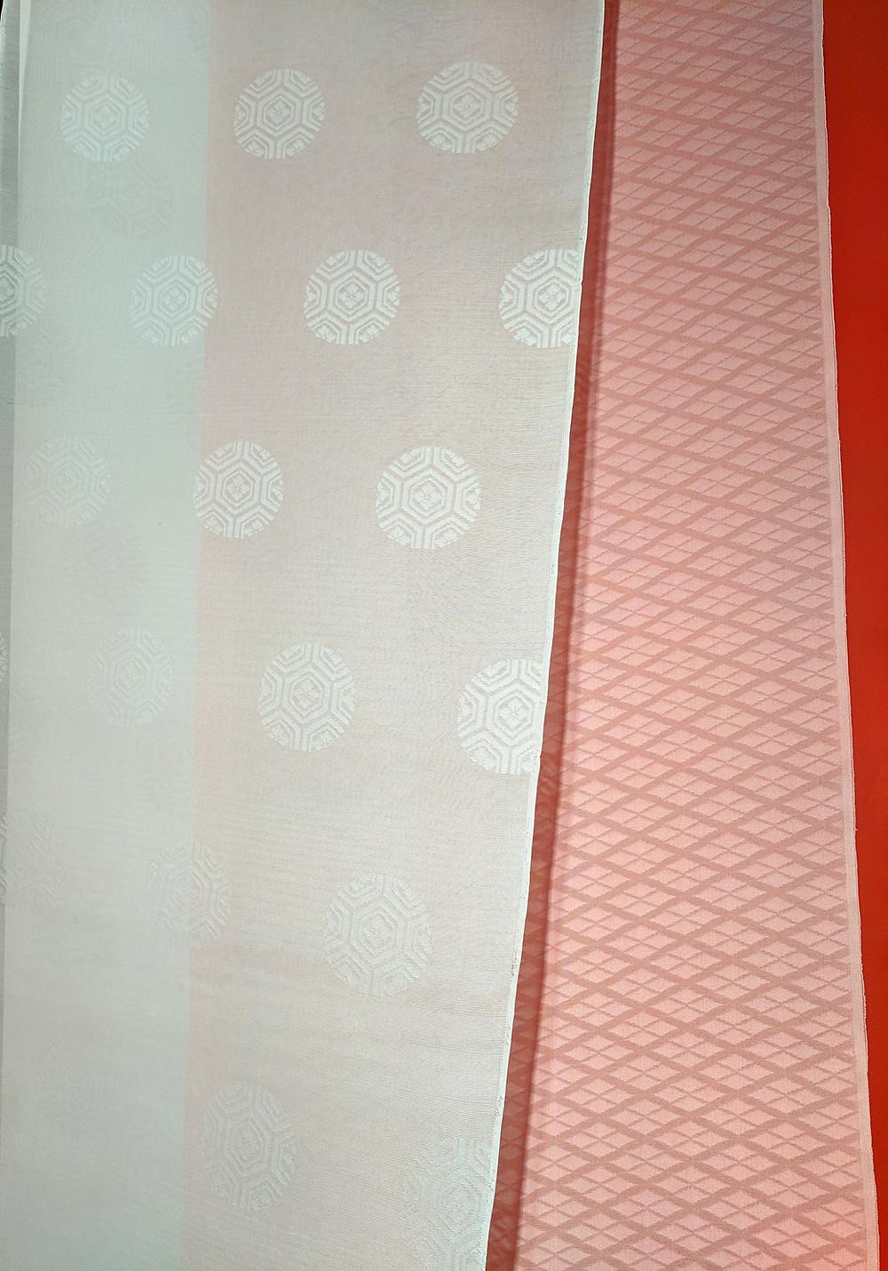 kasane fabric layering Japanese kimono