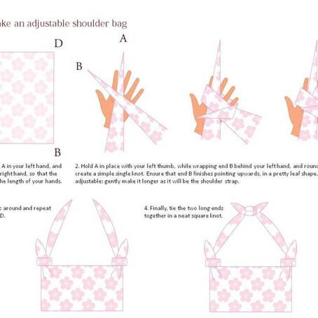 How to make an adjustable shoulder bag!