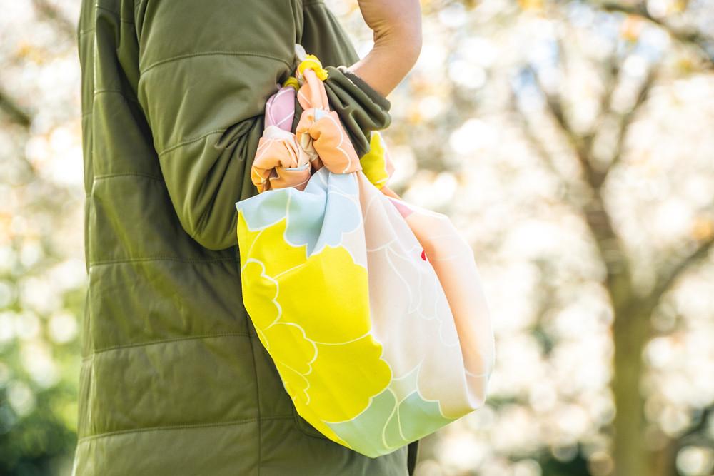 Zusetsu Store, furoshiki, bag, handbag, fabric bag, fabric wrap